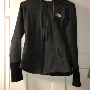 Charcoal gray north face!🖤